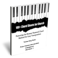 100+ Chord Sheets for Church