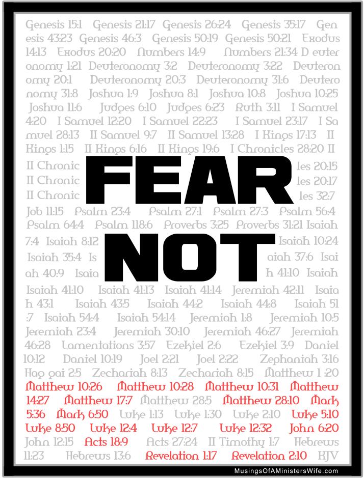 fear not black